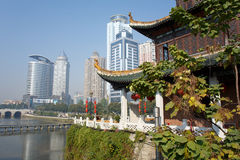 Chinese tourist city - Guiyang scenery Stock Photography