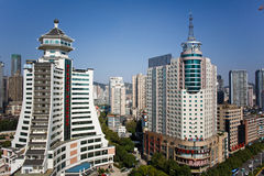 Chinese tourist city - Guiyang scenery Royalty Free Stock Images