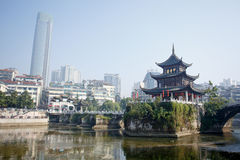 Chinese tourist city - Guiyang scenery Stock Image