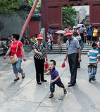 Chinese tourists Royalty Free Stock Image