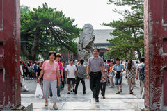 Chinese tourists Royalty Free Stock Images