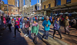 Chinese tourists in Sydney Stock Photos