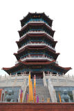 Chinese tower Royalty Free Stock Photo