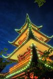 The Chinese Tower Royalty Free Stock Photography
