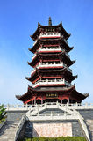 Chinese tower royalty free stock photos
