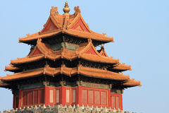 Chinese tower in Beijing Stock Photos