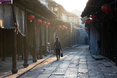 Chinese town Royalty Free Stock Photos