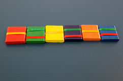 Chinese toy: six board Stock Photography