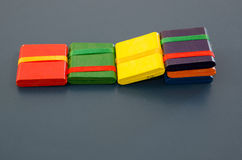Chinese toy: six board Royalty Free Stock Images