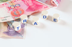 Chinese trade. Royalty Free Stock Photo