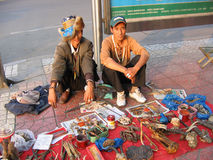 Chinese traders Stock Photos