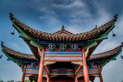 Chinese traditinal architecture Royalty Free Stock Photo