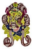 Chinese tradition opera mask Stock Image