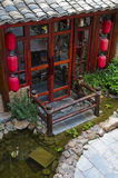 Chinese traditional architectural Royalty Free Stock Images