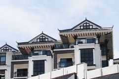 Chinese traditional architectural Royalty Free Stock Photo