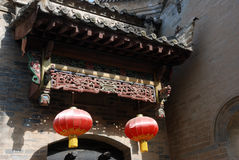 Chinese traditional architectural art Royalty Free Stock Photo
