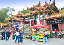 Chinese traditional architecture Royalty Free Stock Photos
