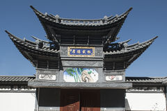 Chinese traditional architecture Stock Images