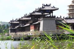 Chinese traditional architecture Royalty Free Stock Image