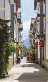 Chinese traditional architecture in Lijiang, Yunnan Royalty Free Stock Images