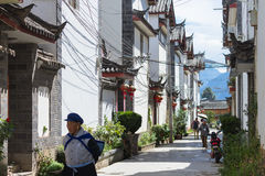 Chinese traditional architecture in Lijiang, Yunnan Royalty Free Stock Photos