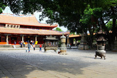 Chinese traditional Buddhist temples, Kaiyuan Temple Royalty Free Stock Images