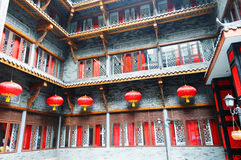 Chinese traditional building stock image