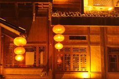 Chinese traditional building Royalty Free Stock Images