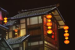 Chinese traditional building Royalty Free Stock Photos