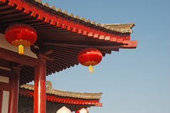 Chinese traditional building Stock Images