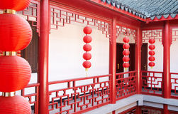 Chinese traditional building Royalty Free Stock Photo