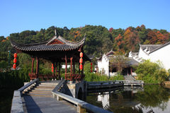 Chinese traditional building in Jiangwan village Stock Photography