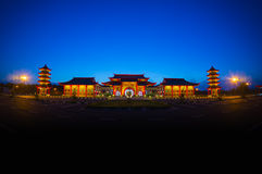 Chinese traditional building Stock Photography