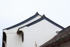 Chinese traditional buildings Royalty Free Stock Images