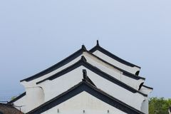 Chinese traditional buildings Royalty Free Stock Image