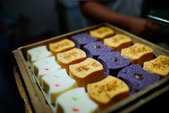 Chinese traditional cake. Sold in Hangzhou, China stock images