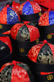 Chinese traditional caps Stock Photos