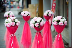 Chinese traditional ceremonial wreath Stock Photo