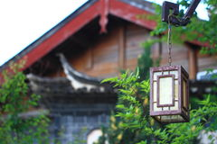 Chinese traditional characteristic lamp Stock Image
