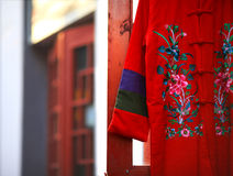 Chinese traditional clothes Stock Photo