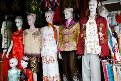 Chinese traditional clothes Stock Photography