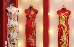Chinese Traditional Clothing Stock Photography