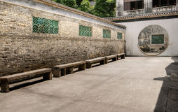 Chinese traditional corridor Stock Photo
