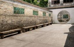 Chinese traditional corridor Stock Photo