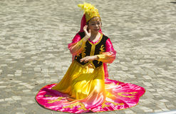 Chinese traditional costumes Royalty Free Stock Photography