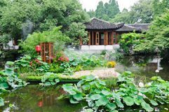 The Chinese traditional courtyard scenery Royalty Free Stock Photography