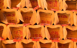 Chinese traditional custom object-ghost money Royalty Free Stock Photo