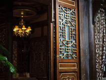Chinese traditional door Royalty Free Stock Photo