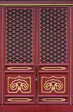 Chinese traditional door. Chinese traditional red and gold door pattern style Stock Images