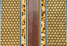 Chinese traditional door in chinese temple Stock Photos